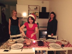 Christmas Dinner with Friends <3